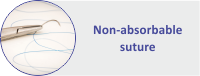 Non-absorbable suture