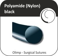 Polyamide (Nylon) black